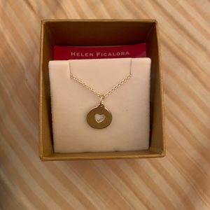 NIB Helen Ficalora heart necklace